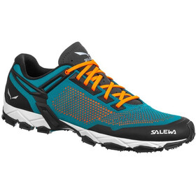 SALEWA Lite Train K Chaussures Homme, malta/fluo orange
